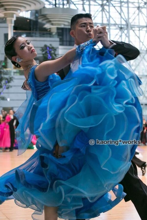 「通い始めてから、連続で踊っても身体が安定し、パフォーマンスが落ちにくくなりました」【熊谷光晃/粕尾明日香組】